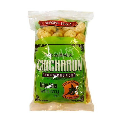 Kain Na Chicharon- Pork Crunch - Jalapeno  70g
