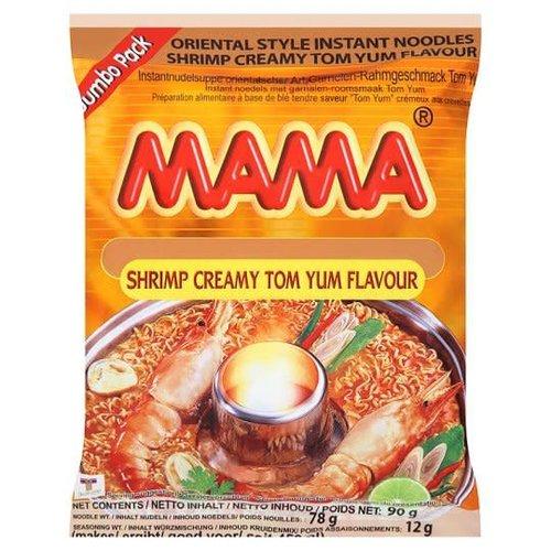 Mama Instant Noodles - Creamy Shrimp Tom Yum 90g