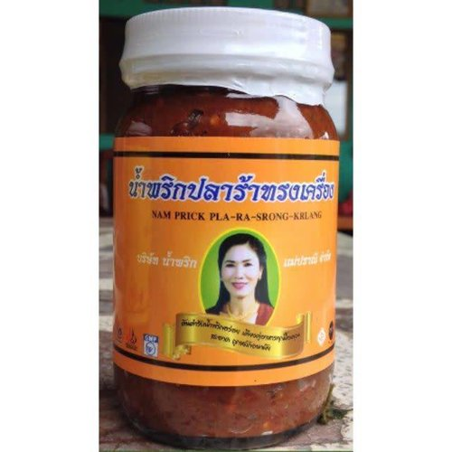 Jaew Bong Seasoning Chili Paste 400g