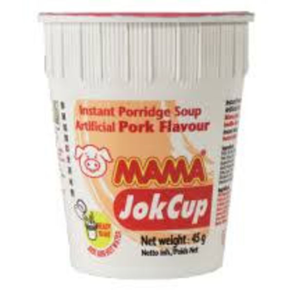 Mama Jok Cup - Rice Porridge Pork 45g