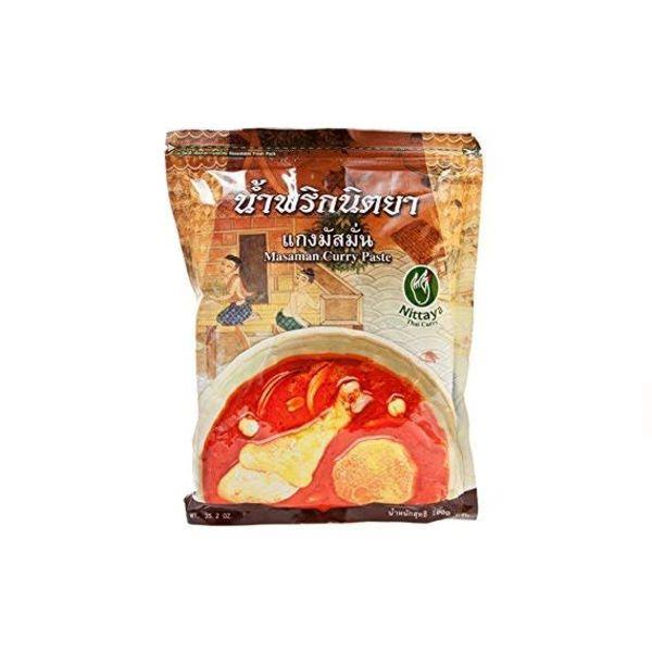 Nittaya BBD 08/18 Masaman Curry Paste 1k