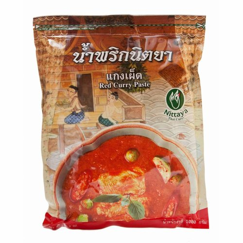 Nittaya BBD 08/18 Red Curry Paste 1k
