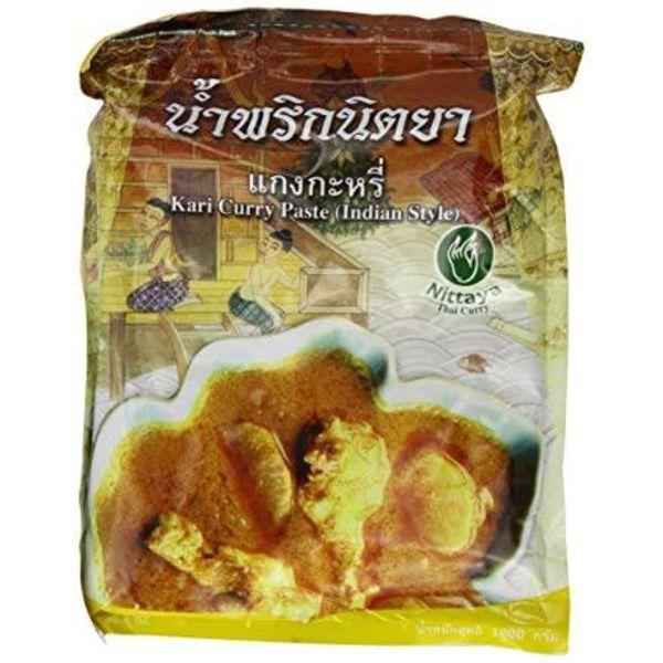 Nittaya BBD 02/18 Kari Curry Paste 1k