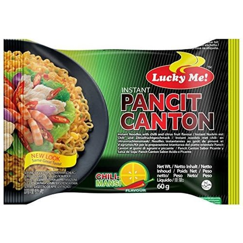Lucky Me Canton Chilli Mansi 60g Best Before Date 01/18