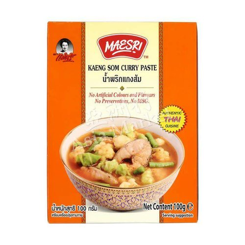 Maesri Kaeng Som Curry Paste 100g