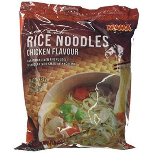 Mama Rice Noodles - Chicken Gluten free 55g Best Before 02/19