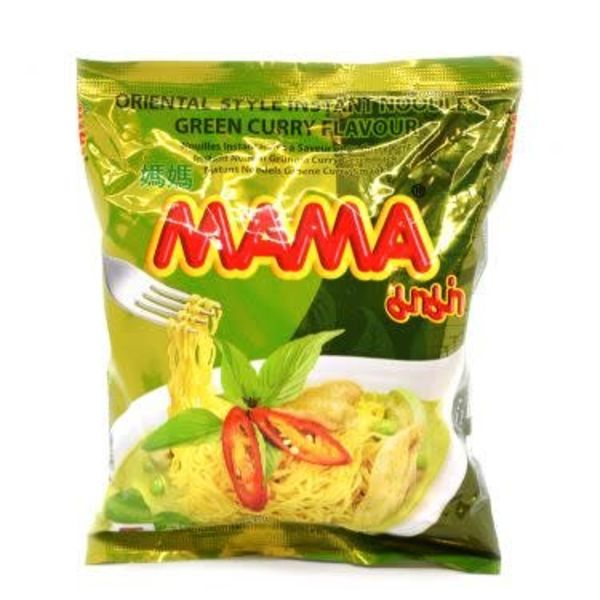 Mama Instant Noodles - Green Curry 55g