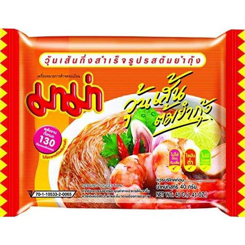 Mama Instant Noodle Vermicelli Woon Sen Tom yum koong 40g
