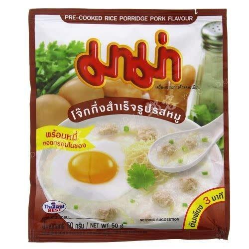 Mama Pre-Cooked Rice Porridge Pork  50g