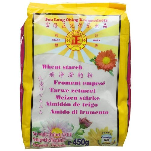 Foo Lung Ching Kee Wheat Starch 450g Best Before 06/19
