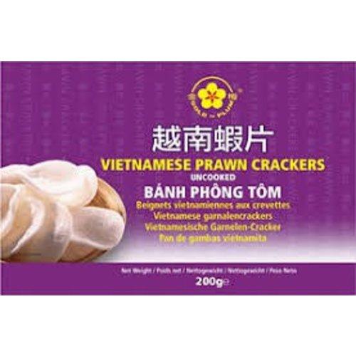Gold Plum Best Before 11/18 Vietnamese Prawn Crackers 200g