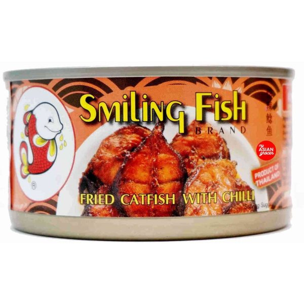 Smiling Fish Fried Catfish with Chilli 90g