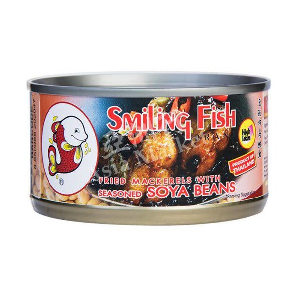 Smiling Fish Fried Mackerel with Seasonned  Soya Beans 120g