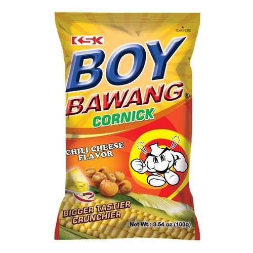 Boy Bawang Cornick-Chilli Cheese 100g Best Before 03/19