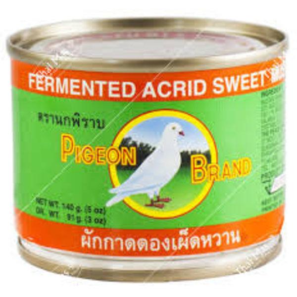 Pigeon Fermented Acrid Sweet Mustard Green 140g