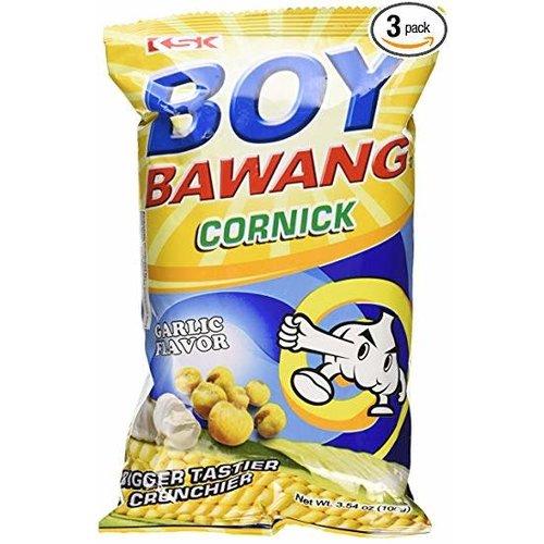 Boy Bawang Cornick-Garlic 100g Best Before 11/18