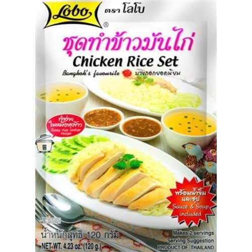 Lobo Chicken Rice Set 120g