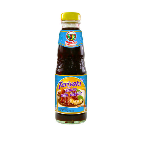 Pantai Teriyaki Sauce with Garlic215g  Best Before Date 12/18