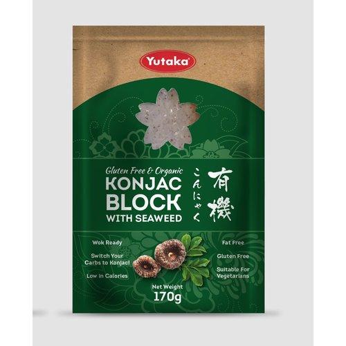 Yutaka Konjac Block with Seaweed 170g