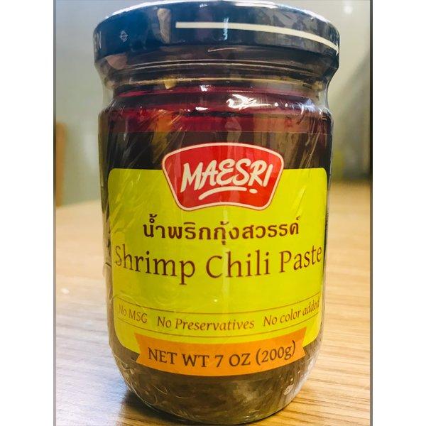 Maesri Shrimp Chilli Paste นำ้พริกุ้งสวรรค์ 200g
