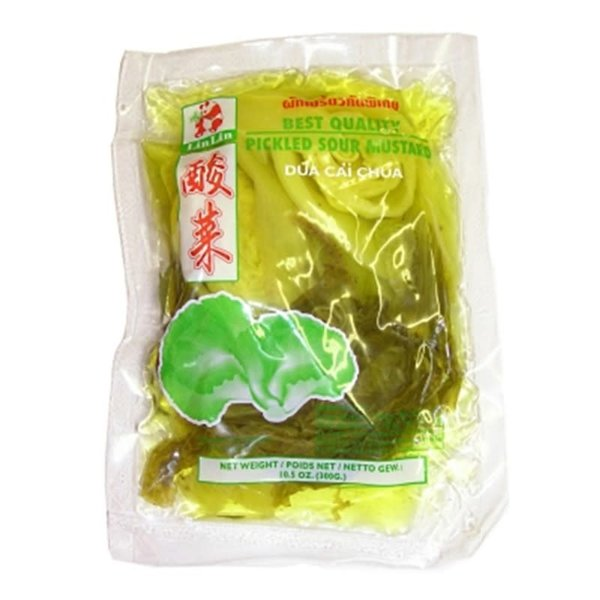 Lin Lin Pickled Sour Mustard Green 300g