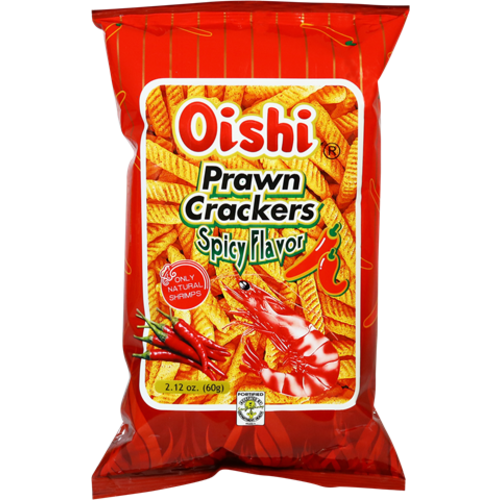 Oishi Prawn Cracker -Spicy 60g