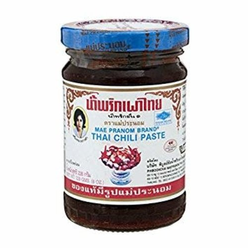 Mae Pranom Thai Chilli Paste with shrimps 228g