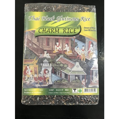 Charm Black Glutinous Rice 1kg