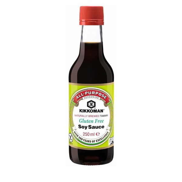 Kikkoman Gluten Free Soy Sauce 250ml