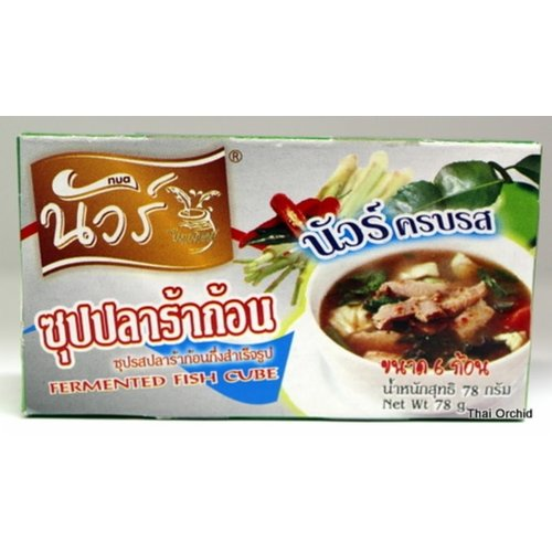 Nua Broth Cube - Fermented Fish 78g