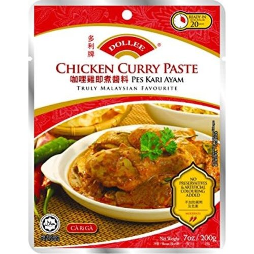 Dollee Chicken Curry Paste 200g Best Before 12/18