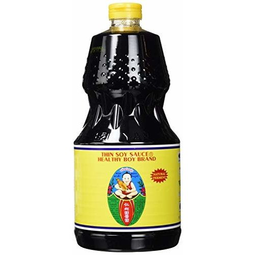 Healthy Boy Thin Soy Sauce 2 ltr best before 30/06/19