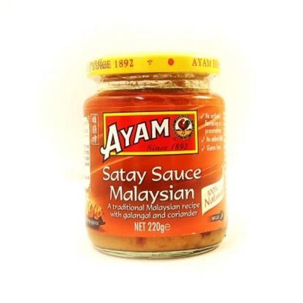 Ayam Satay Sauce- Malaysian Mild 220g