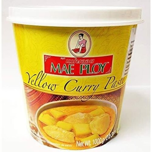 Mae Ploy Yellow Curry Paste 1kg (Best Before Date Sep 2018)