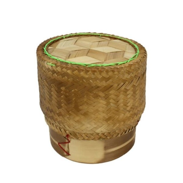 Bamboo Basket for Sticky Rice 7""