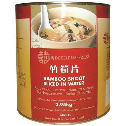 Double Happiness Sliced Bamboo Shoots 2950g