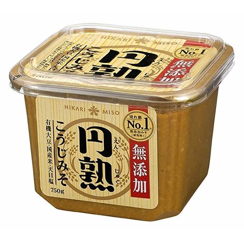 Hikari Enjuku Soybean Paste Koji Miso Mutenka 750g
