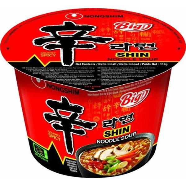 Nongshim Noodle Soup- Gourmet Spicy Bowl 114g