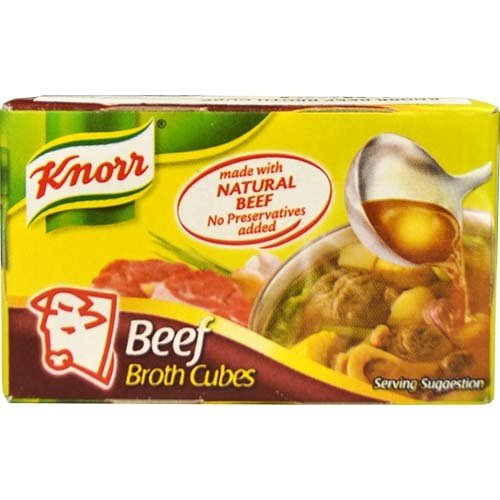 Knorr Broth Cube - Beef 20g Best Before 06/19