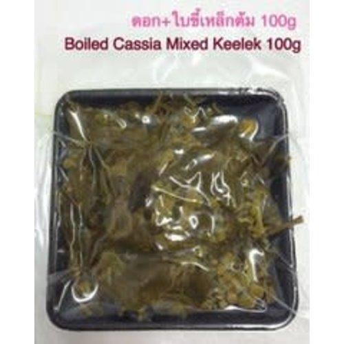 Boiled Cassia Mixed Keelek / ขี้เหล็กต้ม 100g