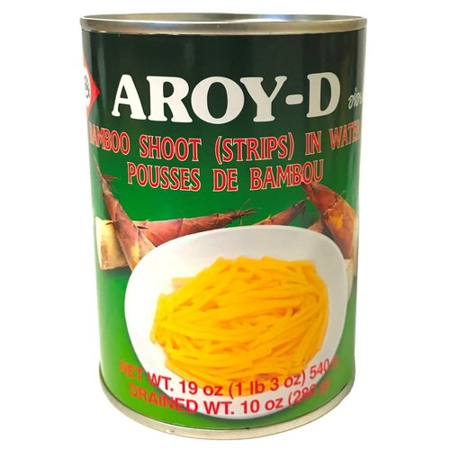 Aroy D Bamboo Shoot- Strips 540g