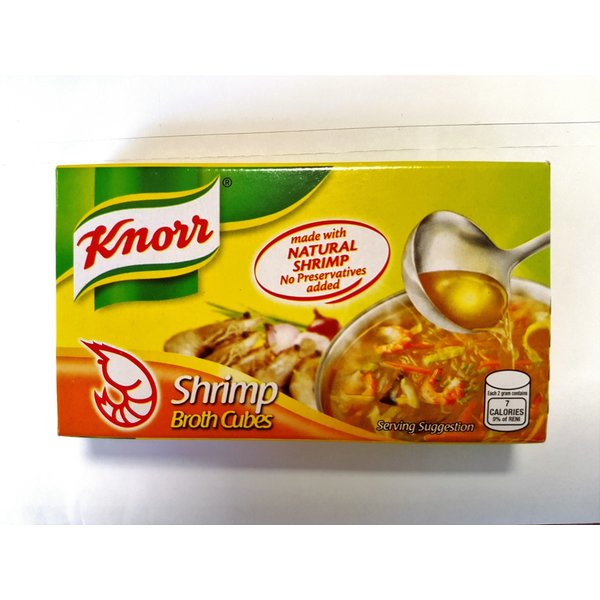 Knorr Knorr Shrimp Broth Cubes Best Before 7/11/18