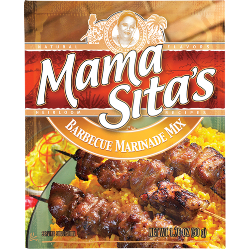 Mama Sitas Barbecue Marinade Mix 50g Best Before Aug 2019