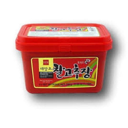 Wang Hot Pepper Paste, Fermented 500g