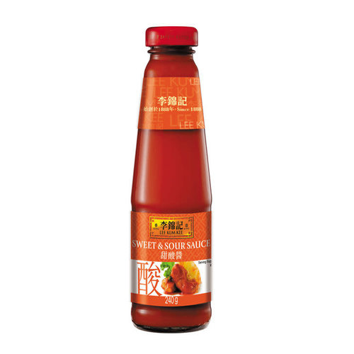 Lee Kum Kee Sweet & Sour Sauce 240g Best Before 05/19