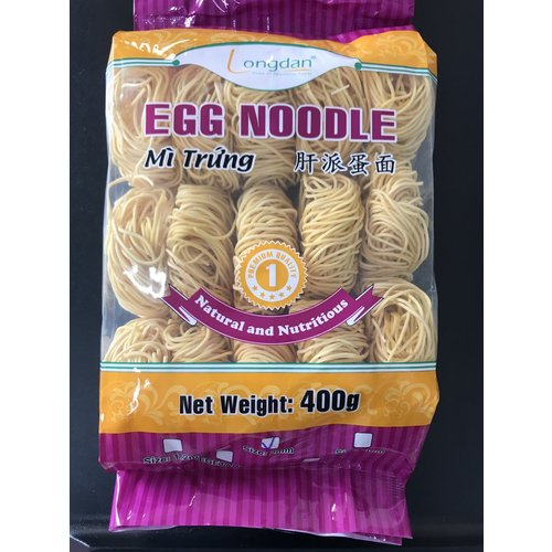 Longdan Egg Noodle 2mm 400g