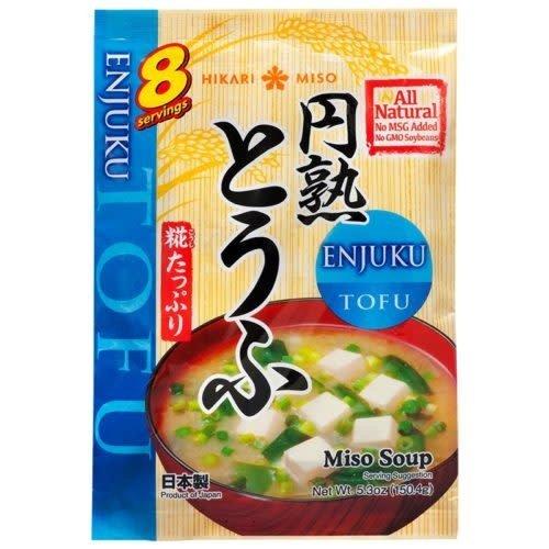 Hikari Enjyuku Miso Soup / Enjuku Tofu 156g (8 servings)