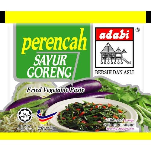 Adabi Sayur Goreng / Fried Vegetablee 30g  BEST BEFORE 23/06/21