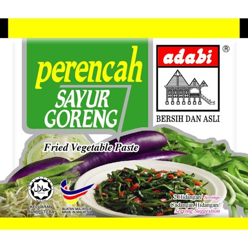 Adabi Sayur Goreng / Fried Vegetablee 30g