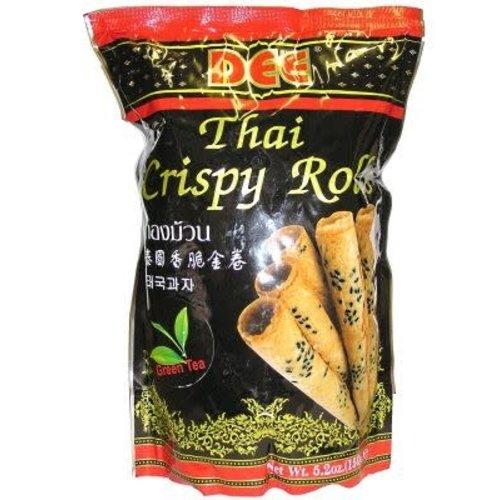 Dee Thai Crispy Rolls- Green Tea  150g